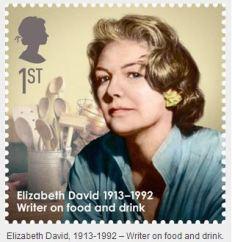 Elizabeth David stamp