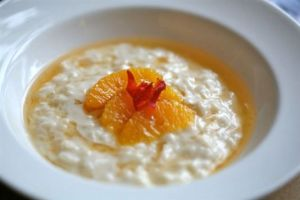 Sweet Rosehip and Orange Risotto