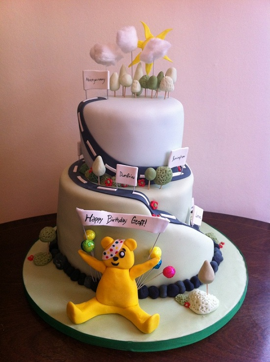 Abergavenny s cake-making supremo gives Pudsey the make ...