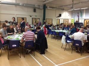 Community Meal at Deri View School