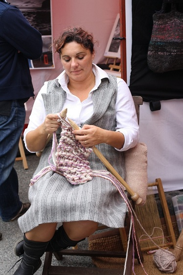 Adult Category Runner-up Katie Ebdon - 'Relaxing, Knitting'2