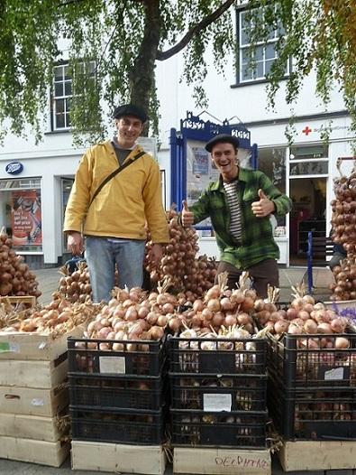 William Reypert - Under 16 runner-up: Garlic / Onion Sellers